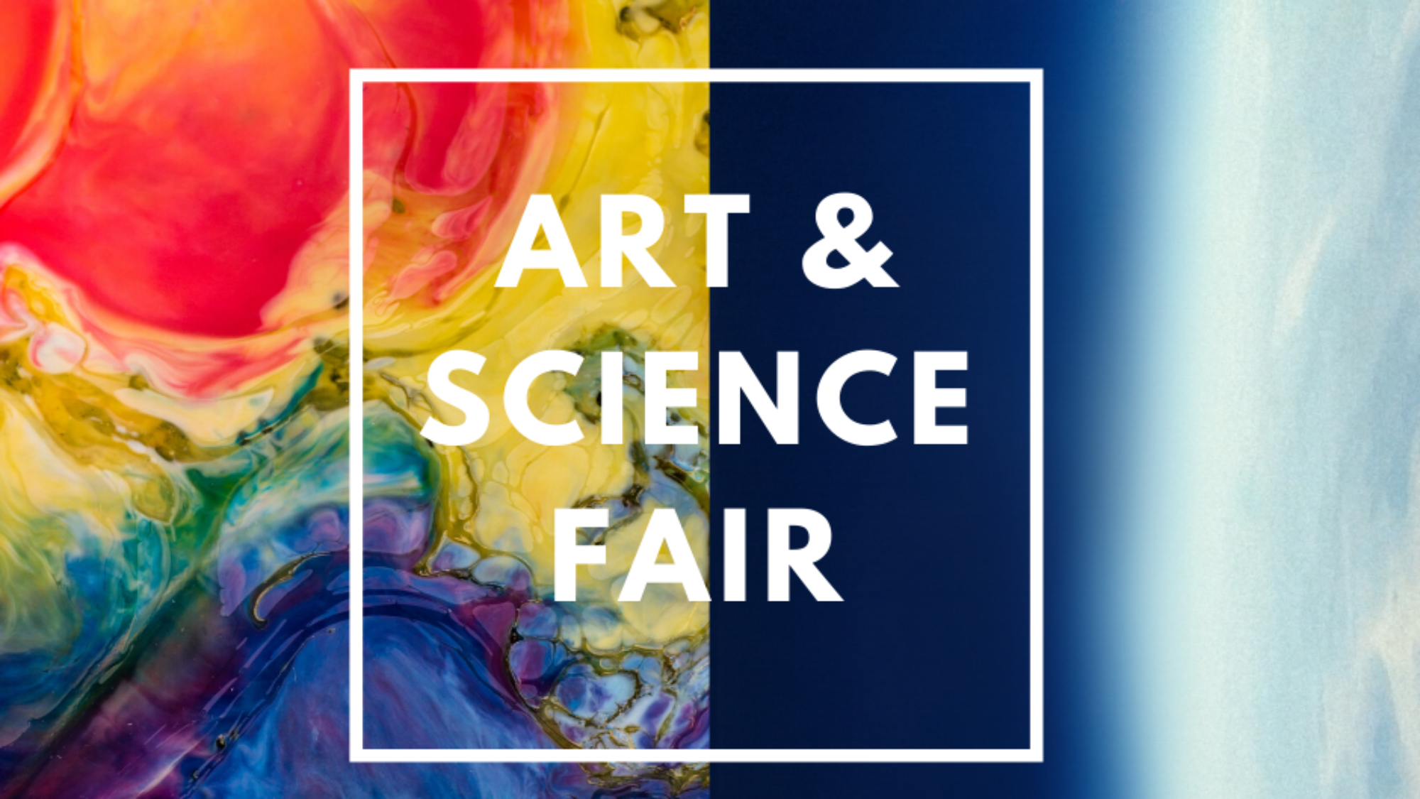 Art & Science Fair 2020 Instagram Post
